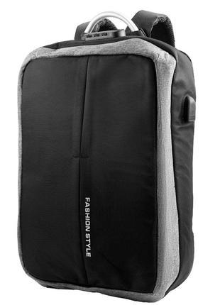 Смарт-рюкзак Мужской рюкзак ETERNO 3DETBK5881-9