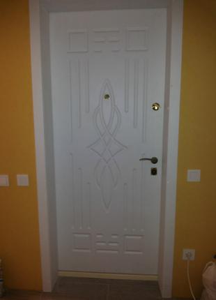 Изготовление входных металлических дверей