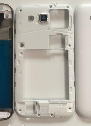 Корпус Samsung i8552 Galaxy Win Duos, белый, оригинал
