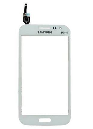Тачскрин (сенсор) для Samsung i8552 Galaxy Win, белый, Ceramic...