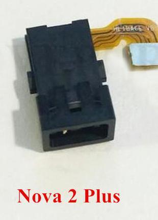 Разъем наушников для Huawei Nova 2 Plus 2017 (BAC-L21), на шлейфе