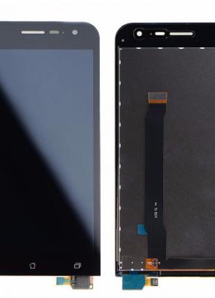 Дисплей (экран) для Asus ZenFone 2 (ZE500CL) + тачскрин, черный