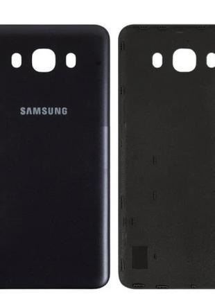 Задняя крышка для Samsung J710F Galaxy J7 (2016), черная