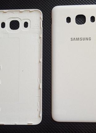 Задняя крышка для Samsung J710F Galaxy J7 (2016), белая