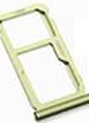 Лоток для сим карты и карты памяти для Huawei Nova 2 Plus (201...