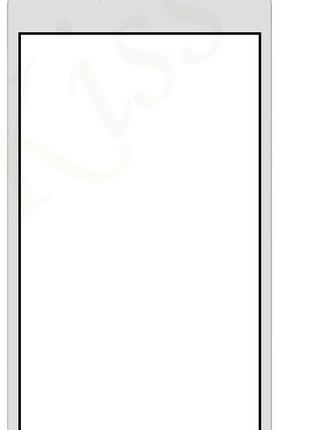 Тачскрин (сенсор) для Meizu M5s (M612)/M5s mini, белый