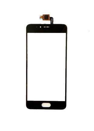 Тачскрин (сенсор) для Meizu M5s (M612)/M5s mini, черный