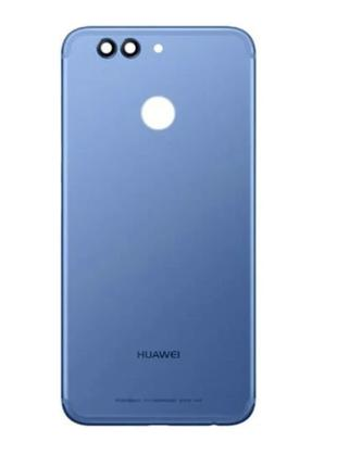 Задняя крышка для Huawei Nova 2 Plus 2017 (BAC-L21), голубая, ...
