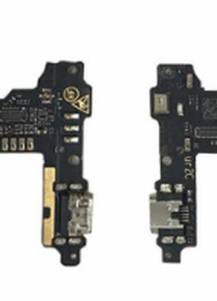 Шлейф для ZTE V8 Blade, с разъемом зарядки, с микрофоном