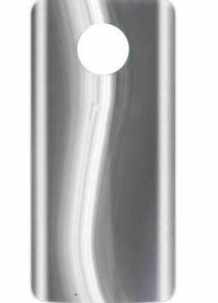 Задняя крышка Motorola XT1925 Moto G6, серебристая, оригинал (...