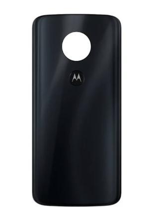 Задняя крышка Motorola XT1925 Moto G6, черная, оригинал (Китай)