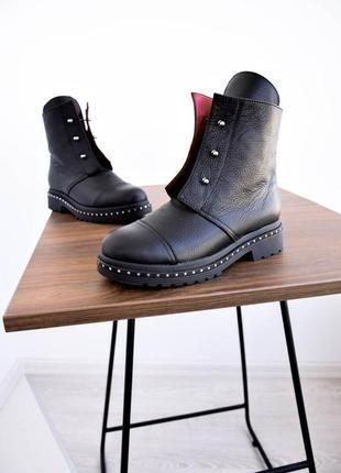 Ботинки на болтах