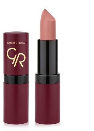 Помада для губ Golden Rose Velvet Matte Lipstick 1