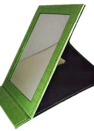Зеркало для макияжа раскладное Ri Zhuang Mirror T-5211 зеленый