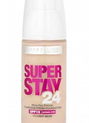 Тональный крем Maybelline Super Stay 24h 20