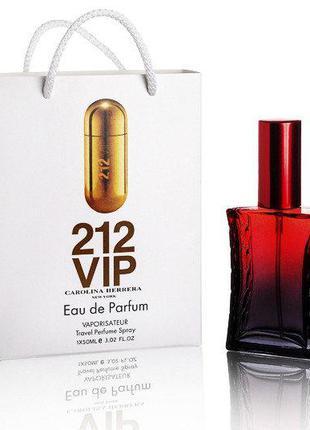 Carolina Herrera 212 VIP women - Travel Perfume 50ml