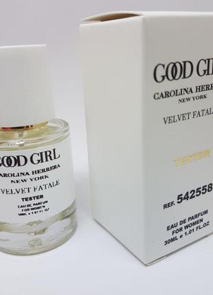 Carolina Herrera Good Girl Velvet Fatale Масляный тестер 30 мл