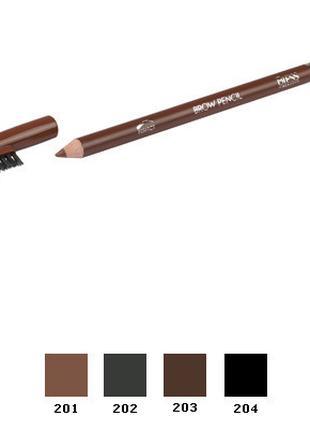 Карандаш для бровей Bless Brow Pencil 203