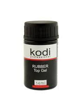 Каучуковое верхнее покрытие для гель-лака Kodi Rubber Top 14ml