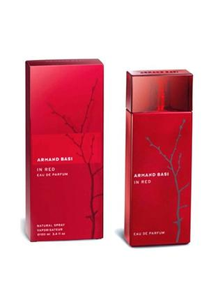Armand Basi In Red Eau de Parfum EDP 100 ml (лиц.)