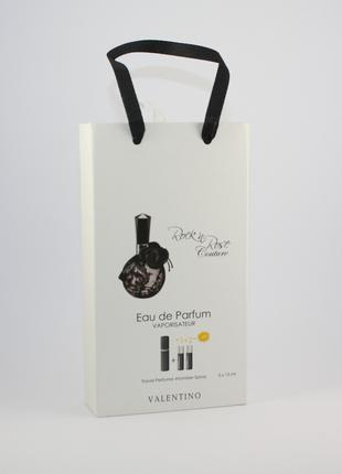 Valentino Rock`n`Rose Couture edp 3x15ml - Trio Bag