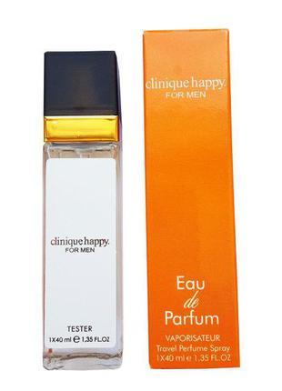 Clinique Happy For Men - Travel Perfume 40ml