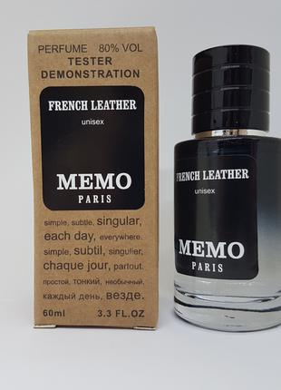 Memo French Leather - Selective Tester 60ml