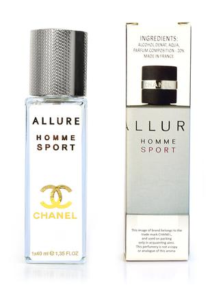 Chanel Allure homme Sport - Luxe tester 40ml