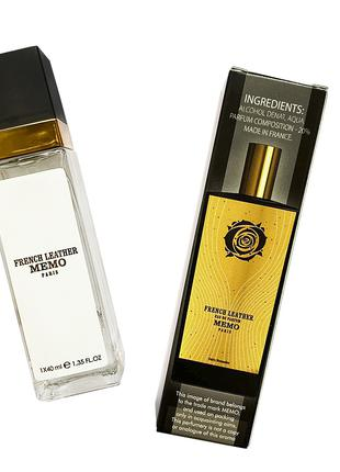 Memo French Leather - Travel Perfume 40ml