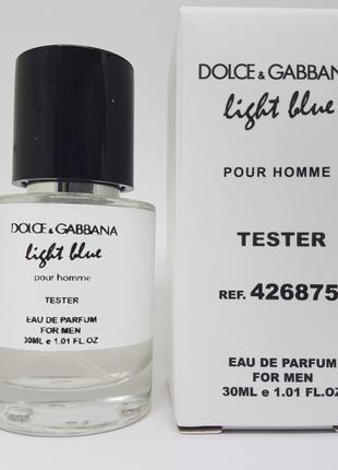 Dolce Gabbana Light Blue pour homme Масляный тестер 30 мл