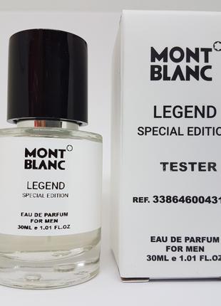 Mont Blanc Legend Special Edition Масляный тестер 30 мл