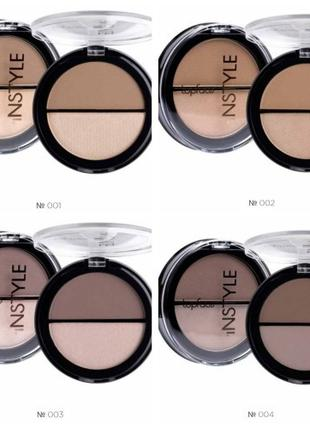 Пудра Topface Instyle Contour&Highlighter; PT262 02