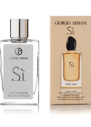 Giorgio Armani Si - Travel Spray 60ml