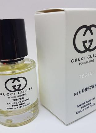 Gucci Guilty Pour Homme Масляный тестер 30 мл