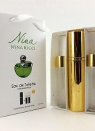 Nina Ricci Nina Plain edt 3x15ml - Trio Bag