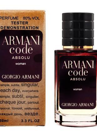 Giorgio Armani Code Absolu - Selective Tester 60ml