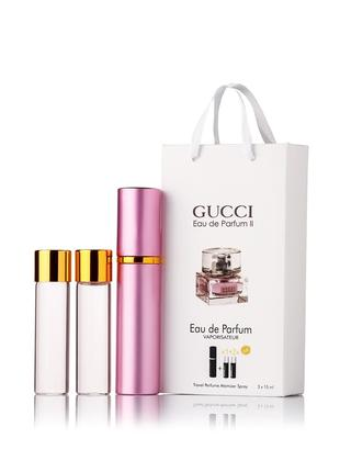 Gucci Eau De Parfum II edp 3x15 ml - Trio Bag