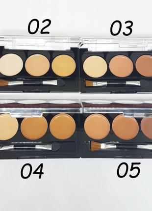 Палетка Meis Corector&Concealer; Face Touch-Up MS0309 3