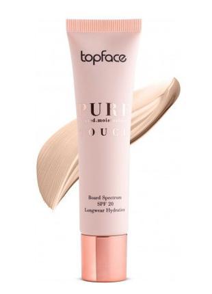 Тональный крем увлажняющий Topface Pure Touch SPF 20 PT566 4