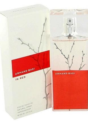 Armand Basi In Red Red&White; EDT 100 ml (лиц.)