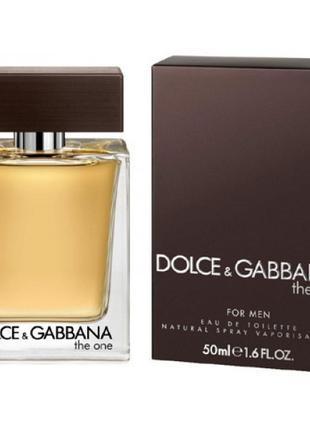 Dolce Gabbana The One for Men EDT 100 ml (лиц.)