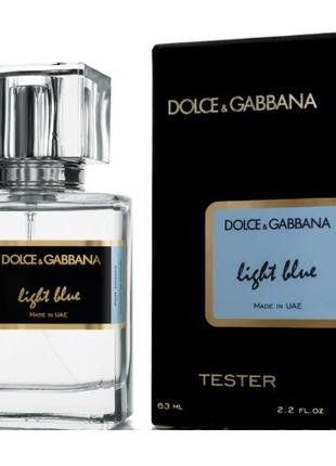 Dolce Gabbana Light Blue pour femme - Tester 63ml