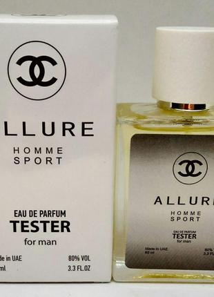 Chanel Allure homme Sport - Quadro Tester 60ml
