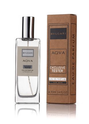 Bvlgari Aqva for men - Exclusive Tester 70ml
