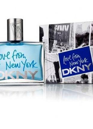 DKNY Love From New York EDT 90 ml (лиц.)