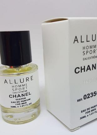 Chanel Allure Homme Sport Eau Extreme Масляный тестер 30 мл