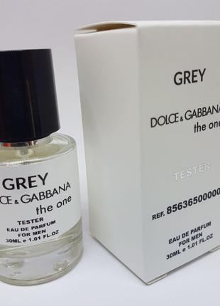 Dolce Gabbana The One Grey Масляный тестер 30 мл