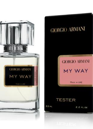 Giorgio Armani My Way - Tester 63ml