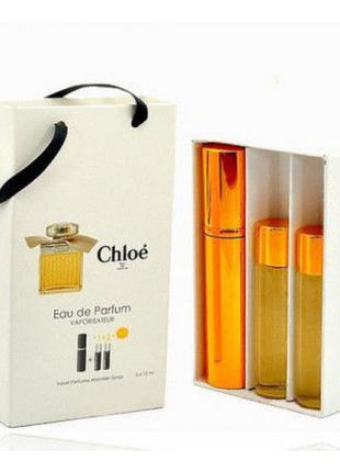 Chloe edp 3x15ml - Trio Bag