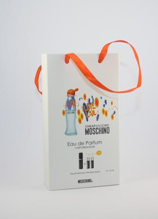 Moschino I Love Love edt 3x15ml - Trio Bag